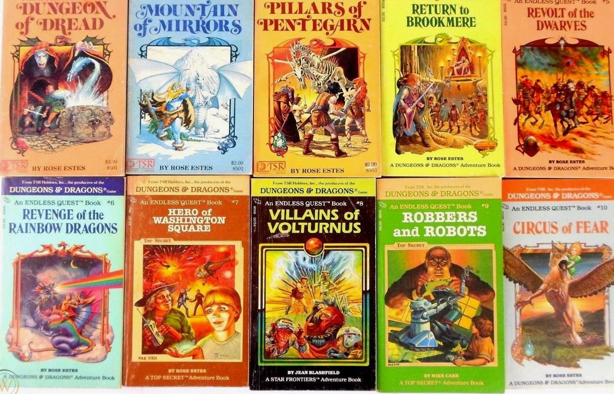 D&D novels