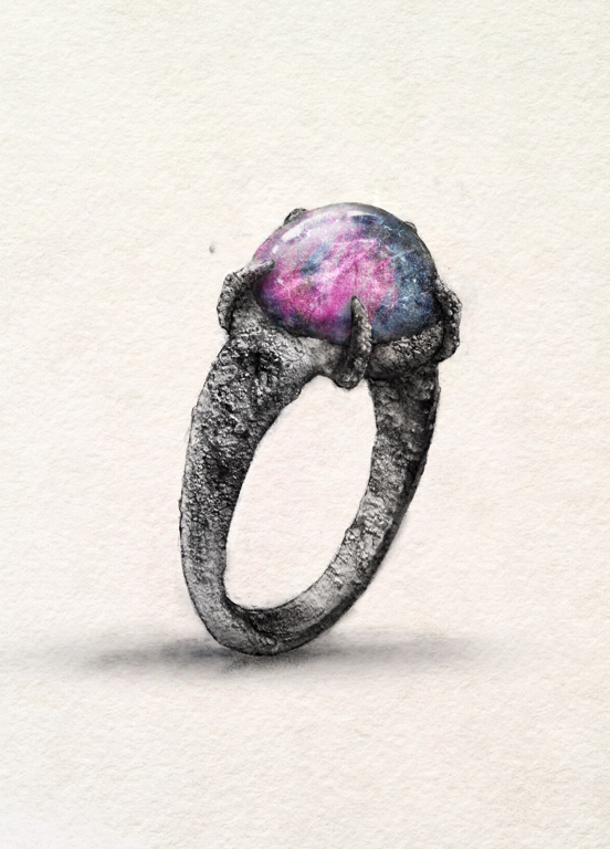 an illustration of a magic ring